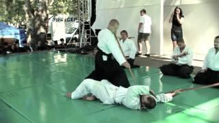 Aikido bemutató 2011.08.20 Dunaújváros