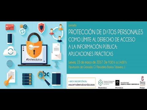 Protección de datos personales como límite al derecho de