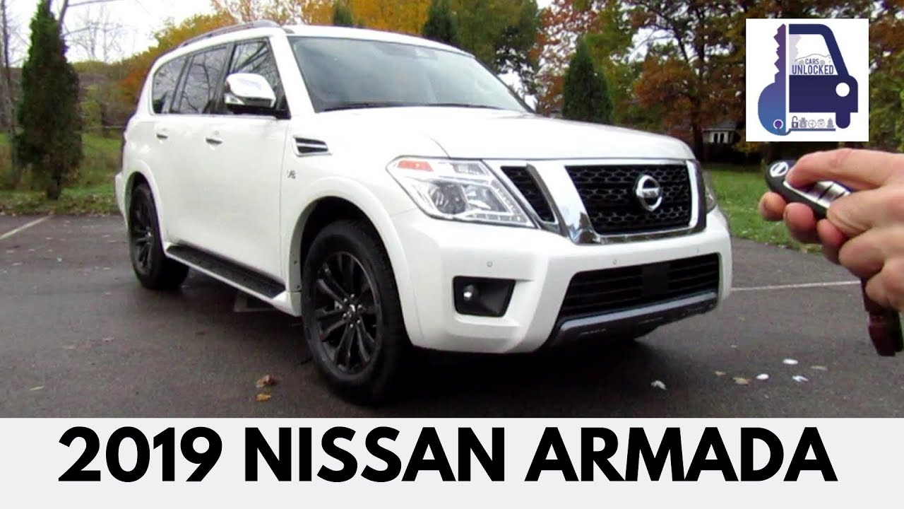2019 Nissan Armada Platinum In Depth Walk Around And Detailed Review