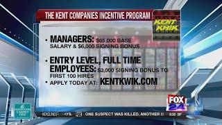 The Kent Companies on Fox 24 News A.M. Live 1-17-2018