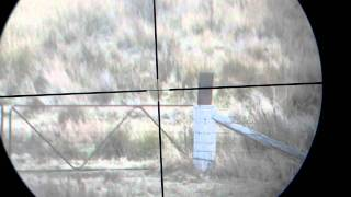 .222 Rifle shooting with Scope camera