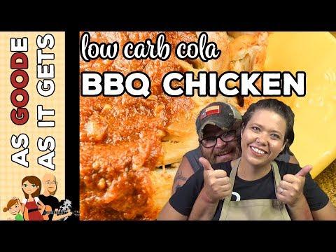 Crockpot BBQ Cola Chicken (Low Carb)