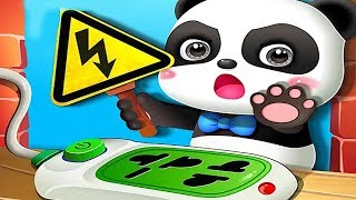 Baby Panda Home Safety - Play Kids Game & Learn Home Safety Knowledge - Fun Educational Games