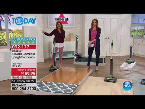HSN | HSN Today: Home Solutions Featuring Bissell 02.13.2018 - 08 AM