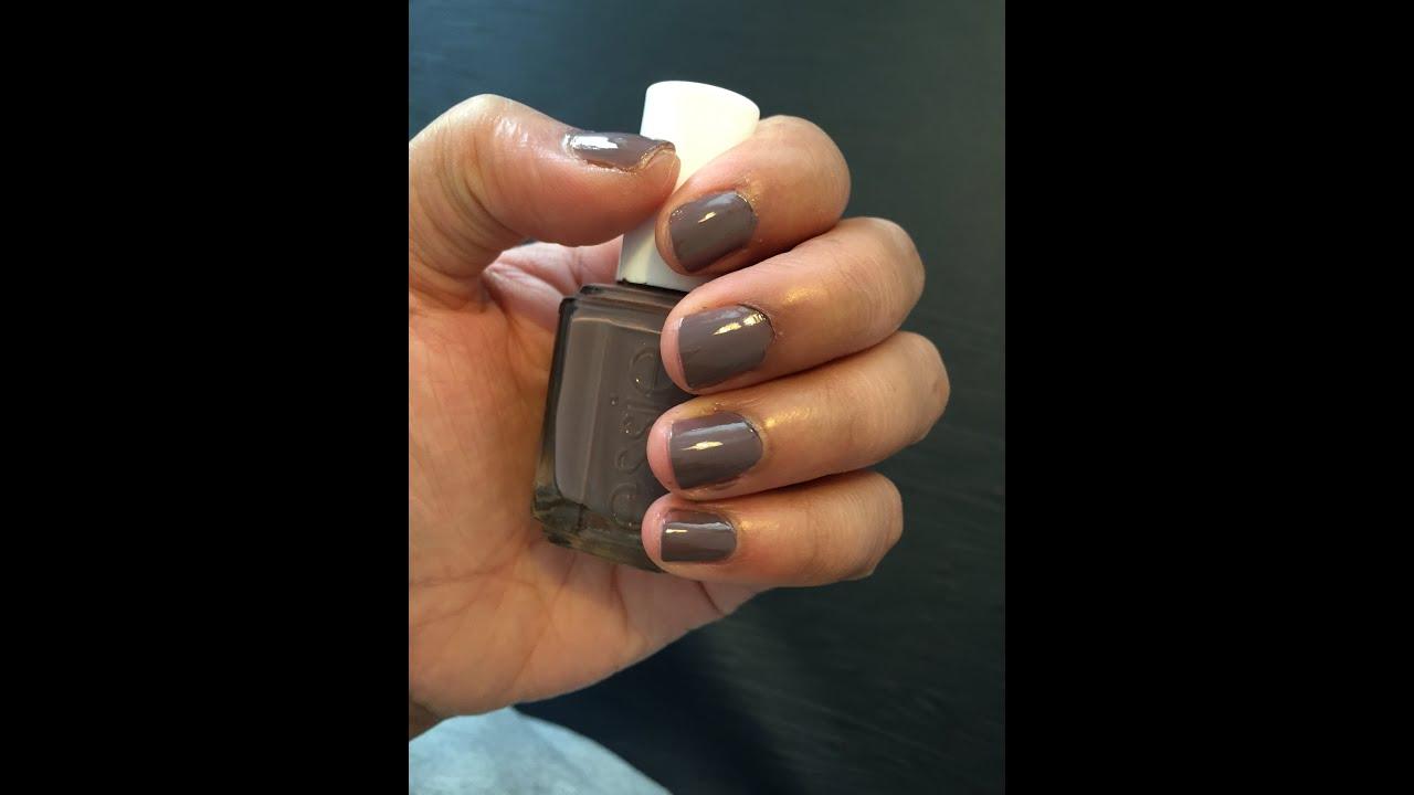 Spring Essie cutex (Merino Cool) - Nail Polish Tutorial! - YouTube