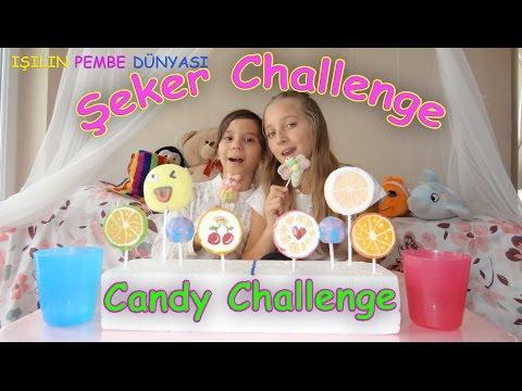 Eğlenceli Şeker Yeme Yarışması Kim önce bitirecek? - Eğlenceli Çocuk Videosu | Candy Challenge