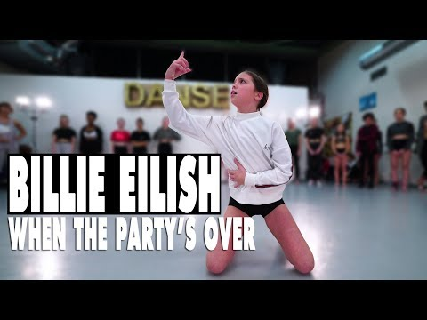 Billie Eilish - when the partys over  Contemporary Dance  Choreography Sabrina Lonis