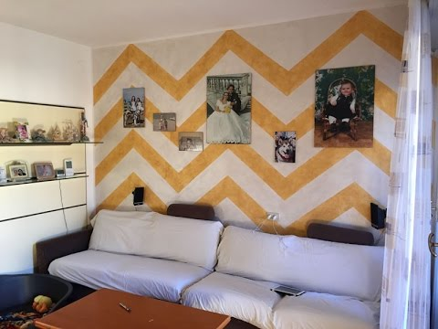 Decorazione parete soggiorno (Time-Lapse) - YouTube