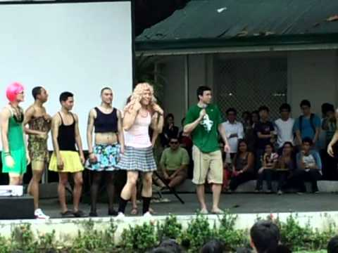 DLSU Green Archer Jeron Teng Cross Dress Dance Sdown