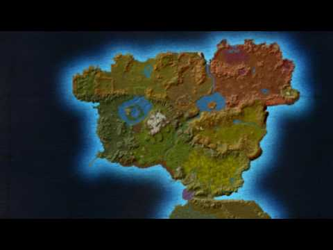 Azeroth In Maps: Eastern Kingdoms Alpha and Beta
