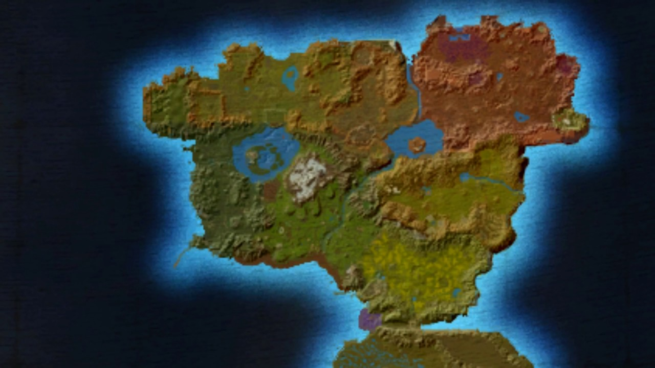 Azeroth In Maps: Eastern Kingdoms Alpha and Beta - YouTube