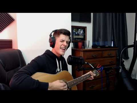 Nate Hill sings live on stream