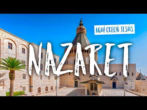 NAZARETH, El Pueblo Donde Creció Jesús, Israel.