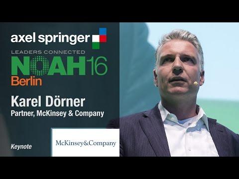 Karel Dörner, McKinsey & Company - Axel Springer NOAH16 Berlin