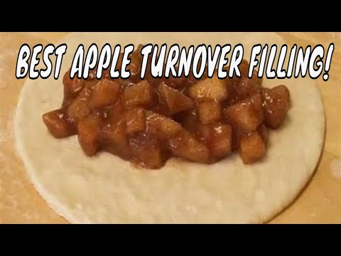 Homemade Apple Turnover or Apple Hand Pie Filling