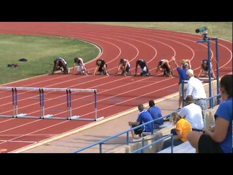2010 Lone Star Conference 110m High Hurdles Final