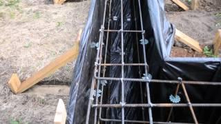 Армирование ленточного фундамента / Reinforcement strip foundation(, 2015-08-18T18:42:03.000Z)