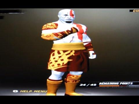 WWE'12: How To Make Kratos