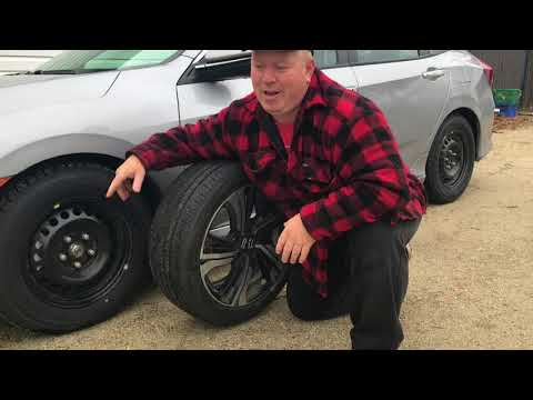 Different Size Winter Tires and Rims
