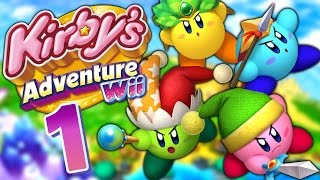 L'AVENTURE COMMENCE | KIRBY ADVENTURE WII U FR EPISODE 1