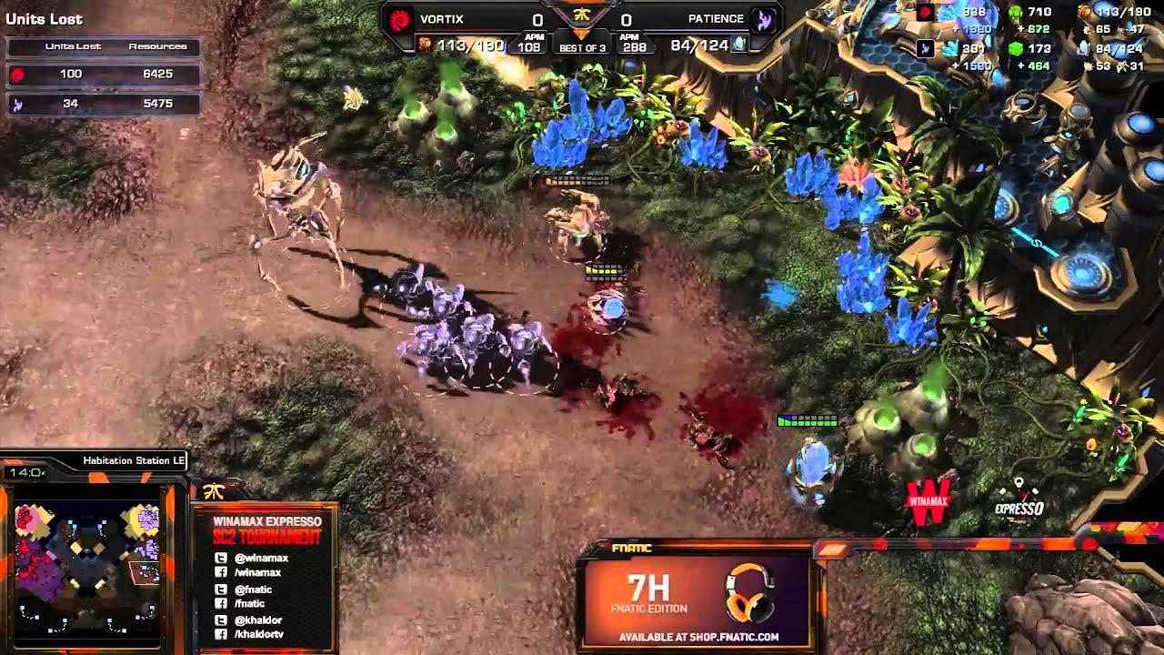 Patience vs. Vortix - Game 1 - Winamax Finals - StarCraft 2