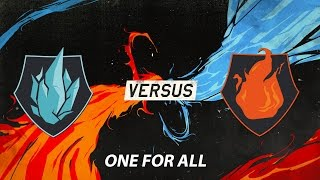 13122015 one for all - ice vs fire  all star 2015