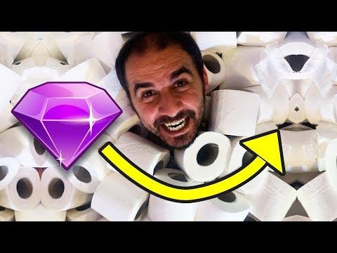 1000 Tuvalet Kağıdının İçindeki Elması Bul