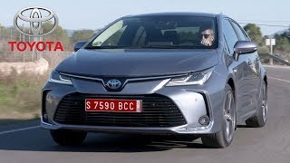 2019 Toyota Corolla Sedan Hybrid | Driving, Interior, Exterior (EU Spec)