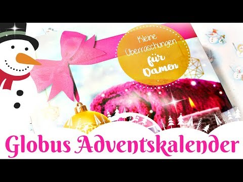 globus drogerie adventskalender f r frauen weihnachten 2017 9999 dinge youtube. Black Bedroom Furniture Sets. Home Design Ideas