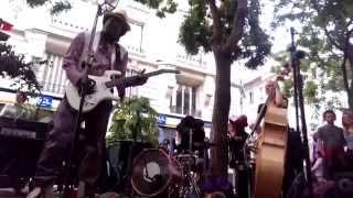 """Ladell Mclin interprète """" Babe Please """" Fête de la Musique """" 21.06.2015"""
