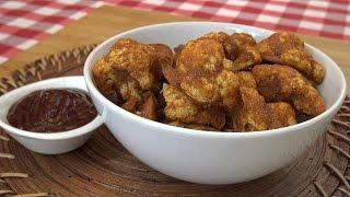 ⭐ Cómo hacer coliflor al horno con salsa barbacoa | Coliflor asada buenísima ⭐