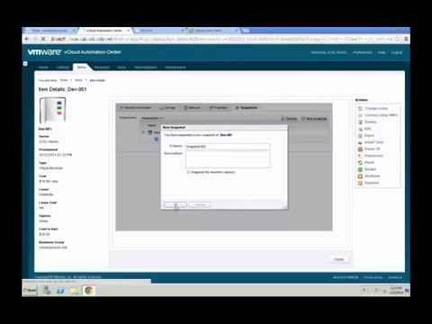 VMware vCAC 6.0 - Virtual Machine Management by Yves Sandfort