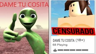 Ho cercato su Google DAME TU COSITA - 18 a Roblox!!! (LOOK WHAT I FOUND)
