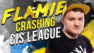 Flamie Crashing CIS League