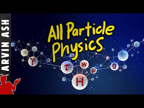 All Particle Physics explained in 18 min using animations & Feynman diagrams