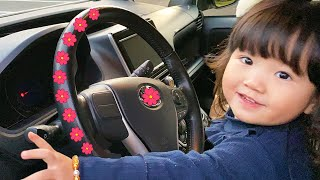 We are in the Car | Wheels On The Bus Song Nursery Rhymes & Kids Songs +More by Yume & Rena