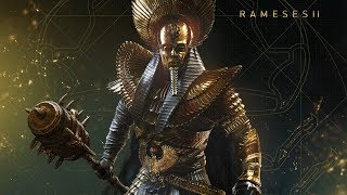 Assassin's Creed Origins  Curse of The Pharaohs DLC   Ramesses Pharaoh Boss Fight
