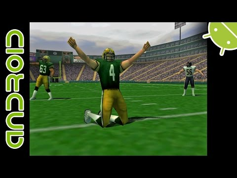 NFL QB Club 2001| NVIDIA SHIELD Android TV | Mupen64Plus FZ Emulator [1080p] | Nintendo 64