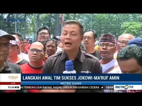 Ratusan Relawan Jokowi-Ma'ruf Amin Berkumpul di Rumah Aspirasi Mp3