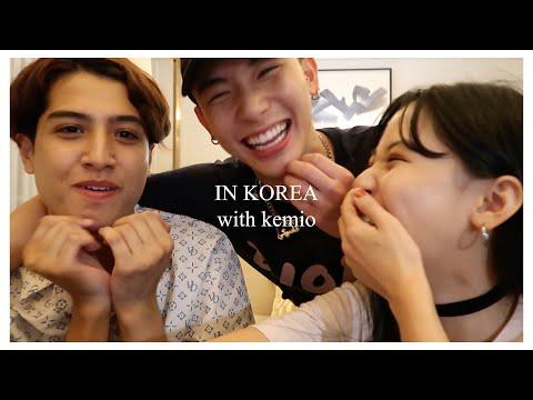 【VLOG】kemioくんと韓国でよしあきの誕生日を祝いました