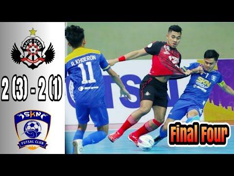 Blacksteel manokwari (2)3 vs SKN FC KEBUMEN (2)1 Final Four 2019