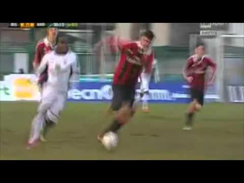 Frank Acheampong - 2 Goals vs Ac Milan!