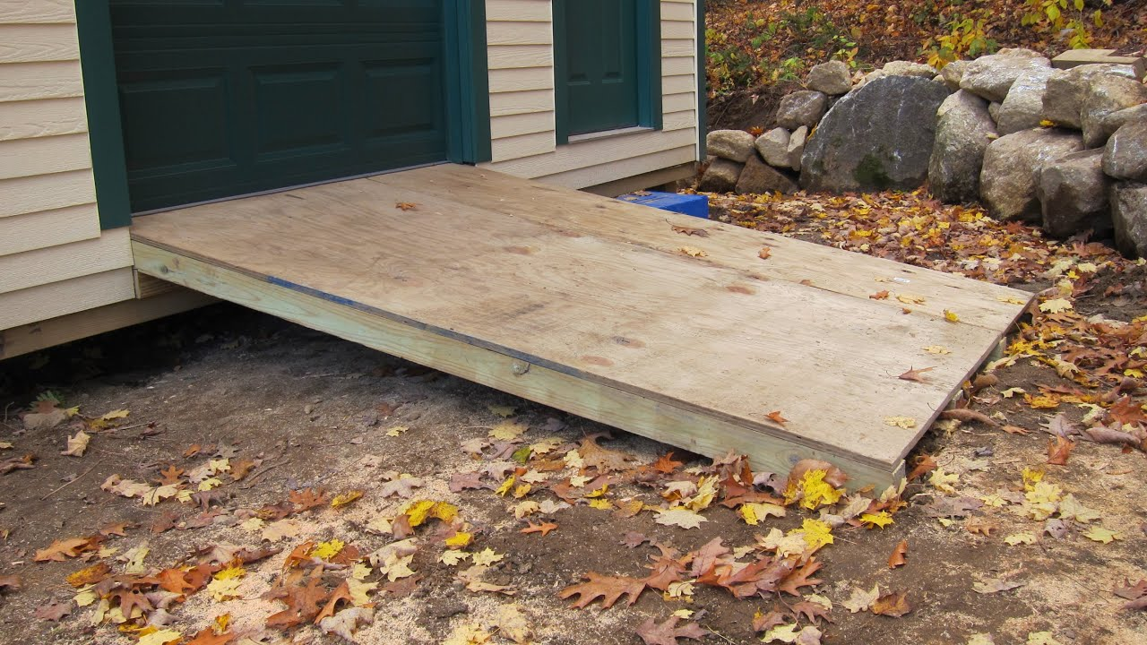 How to Build a Ramp - YouTube