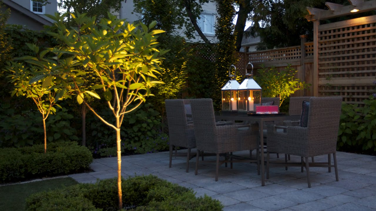 how to turn a small backyard into an elegant oasis
