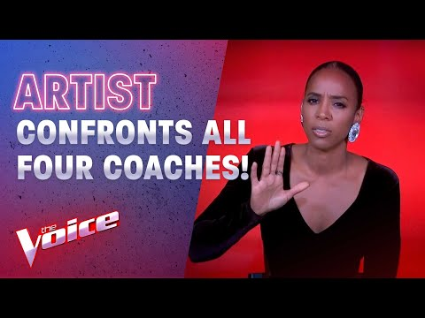 Playoffs: Artist Confronts Coaches During Intense Showdown | The Voice Australia 2020