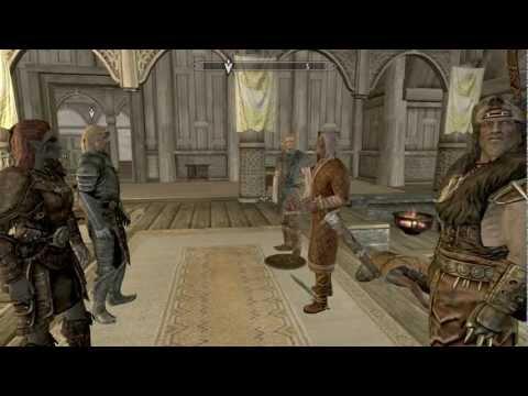 Skyrim Imperials or Stormcloaks. Battle of Whiterun quest