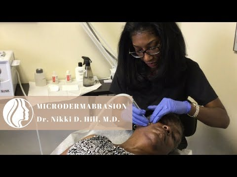 Dermatologist Microdermabrasion For Even Pigmentation & Texture