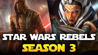 Star Wars Rebels Season 3: New Legends Character Teased by Producer Dave Filoni at Celebration 2016!