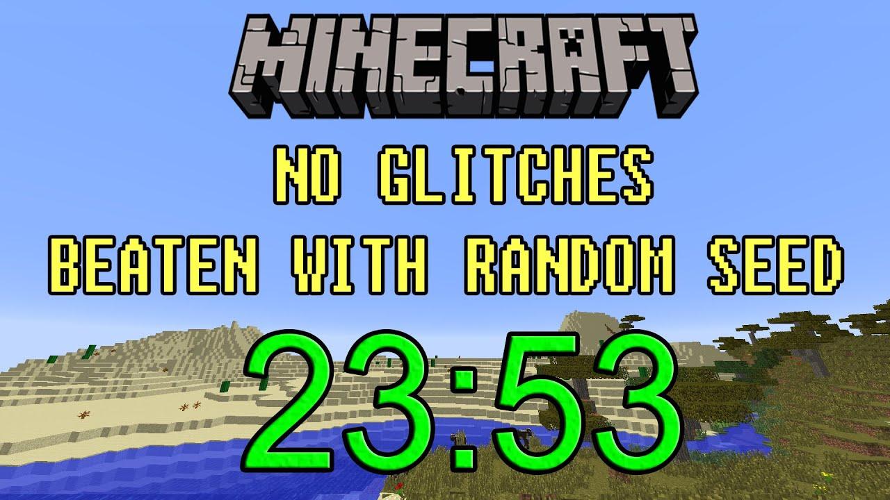 [World Record] Minecraft Beaten in 11:11  Random Seed Glitchless Any%  Speedrun