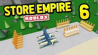 BUILDING A LUMBER YARD - Roblox Store Empire #6
